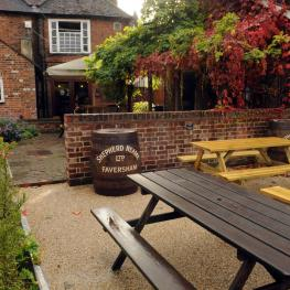 Royal Oak Dartford Beer Garden 2